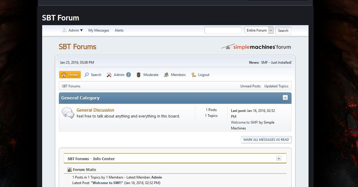 New Forums