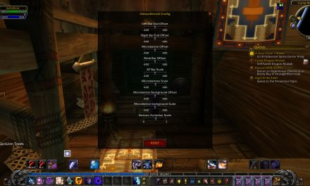 Get your classic WOW GUI back :-)