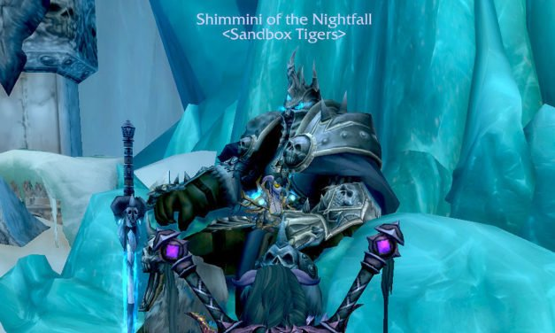 Icecrown and the Sandbox Tigers of the Frozen Bum!