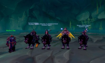 Garn NightHowls spotted in Shrine of the Storms!